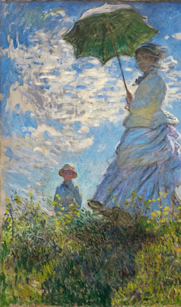 W 381 Woman_with_a_Parasol Madame_Monet_and_Her_Son gap M-1