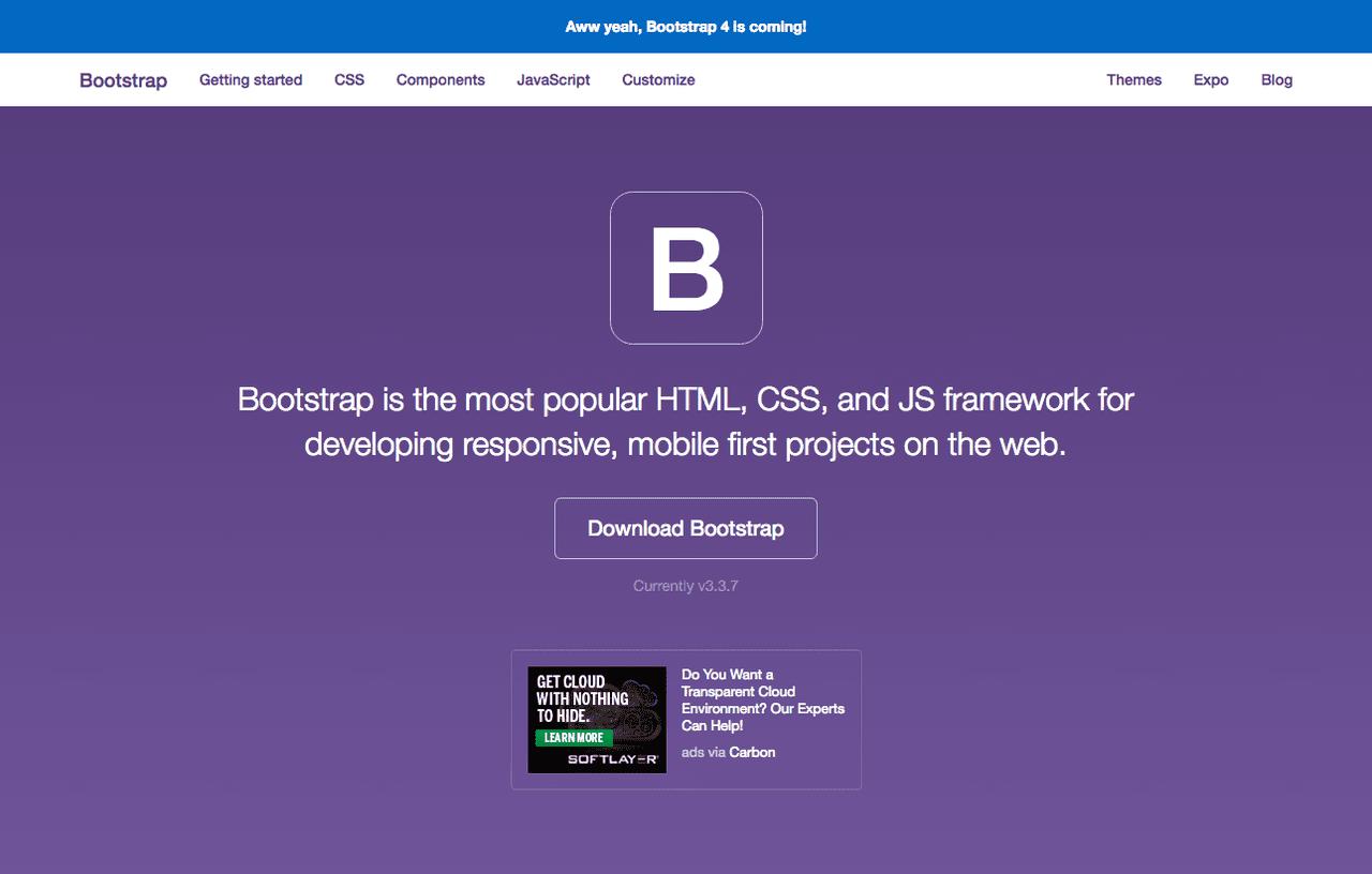 初心者でもWebデザインできるBootstrapとは!
