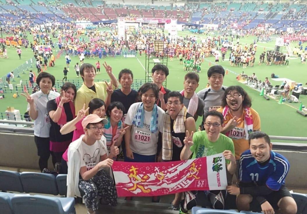 Room8でアクトス6時間リレーマラソン2016 inナゴヤドームに参加してきました!