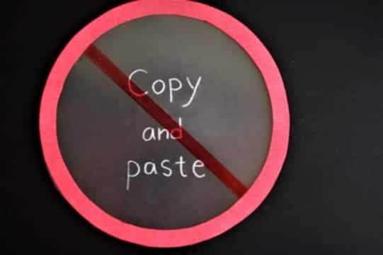 コピペは違法!?著作権で守られている2つのこと