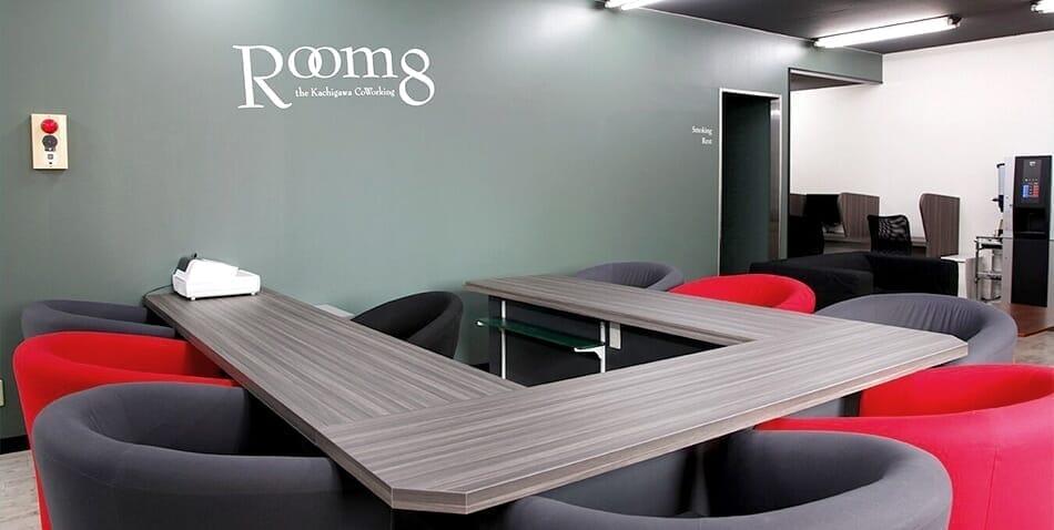 コワーキングスペース Room8 店内写真